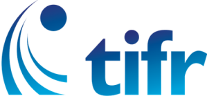 TIFR Logo New - Blue SMALL